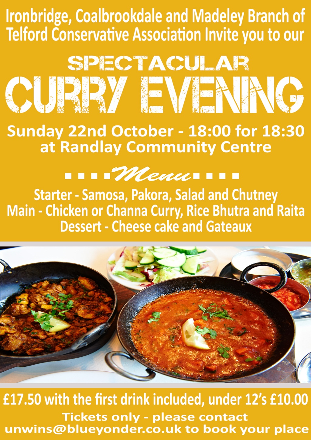 ICM Curry Evening